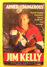 SIGNED - Armed and Dangerous by Vic Carucci and Jim Kelly (1992, Hardcover)