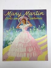 Rare 1942 Mary Martin Dolls and Costumes Original Paper Dolls UNCUT DOLL