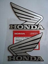 GENUINE Honda CRF CBR CBX CM XR VTR CBF VFR Decal Sticker SILVER / BLACK