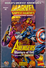 RPG JEU DE ROLE / SAGA MARVEL SUPER HEROES AVENGERS MASTERS OF EVIL