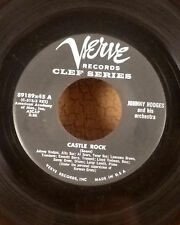 "Johnny Hodges 7"" verve clef jazz 45 Castle Rock /don't call me I'll call you VG+"