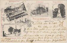 36147 - Gruss aus Bernau in der Mark mit Schützenhaus 1907