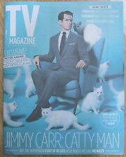 Jimmy Carr – TV magazine – 9 November 2013