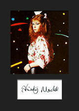 Kirsty MacColl #2 Signed A5 Mounted Photo Print - FREE DELIVERY