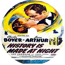 History Is Made at Night DVD Charles Boyer Colin Clive Jean Arthur V Rare 1937
