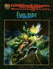 AD&D - EVIL TIDE 9542 avventura TSR monstrous arcana NEW SEALED