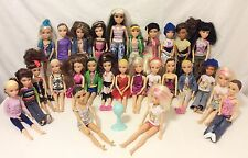 "26 Spin Master LIV Dolls Lot Wigs Clothes Accessories & 14"" Moxie Teenz Melrose"