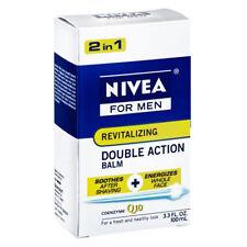 Nivea For Men Revitalizing Double Action Shave Balm 3.3 Fl Oz