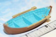MICRO MACHINES NAVAL WOODEN ROW BOAT # 1