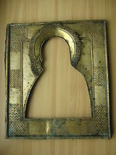 Ikone,Antique Russian Orthodox icon riza,,Virgin of Vladimir,, from 19c.