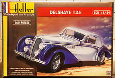 1935 Delahaye 135, 1:24, Heller 80707