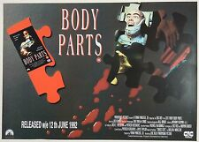 BODY PARTS / ORIGINAL VINTAGE VIDEO FILM POSTER / 5