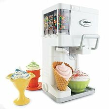 Ice Cream Maker Soft Serve Machine Frozen Yogurt Sorbet Icecream Sherbet  Quart