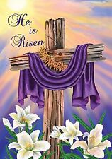 "Easter Cross Garden Flag Briarwood Lane 12.5"" x 18"""