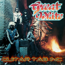 Great White Guitar & Bass Tab STICK IT Lessons on Disc