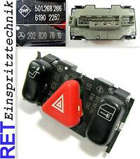 Schalterkonsole Warnblinkschalter SWF 2028207810 Mercedes Benz W 202