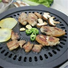 Portable Korean BBQ Grill Non-stick Barbeque Plate Cooking Pan Steak Plate