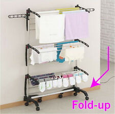 Six tiers Clothes Hanger Drying/Laundry/Rack/Foldable/Triple/Decker/clothes hors