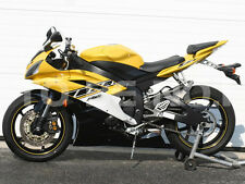 Fairing Kit for 2006 2007 Yamaha YZF R6 ABS Injection Black Yellow Bodywork a07