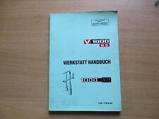 Manuale officina Manuale di riparazione Moto Guzzi V 1000 G5 (VG) / 1000 SP (VG)