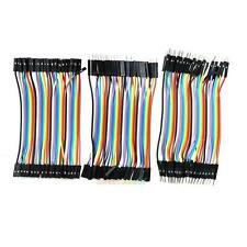 120Pcs Good Male to Female Dupont Wire Jumper Cable for Arduino Breadboard
