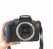 Canon EOS Rebel T3 / EOS 1100D 12.2 MP Digital SLR Camera - Black (Body only)