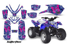Polaris Outlaw 50 AMR Racing Graphic Kit Wrap Quad Decal ATV All Years BFLY PNK