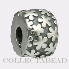 Authentic Pandora Sterling Silver Flower Clip 790533