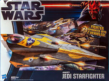 Hasbro Star Wars Clone Wars 2012 ANAKIN'S JEDI STARFIGHTER Vehicle HARD TO FIND!