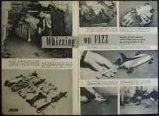 1947 Douglas Aircraft Engineers Jet Tether Cars article