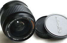 MINOLTA MC W.ROKKOR-X 28mm f2  for mirrorless cameras  JAPAN EXCELLENT+