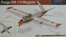 Fouga CM.170 Magister, Luftwaffe, Belgium,  France , 1:48, AMK, Neuheit