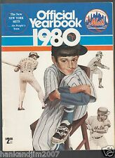 New York Mets 1980 Official Team Yearbook Spring Training Roster