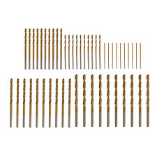 50Pcs High Quality HSS Steel Titanium Coated Twist Drill Bit Drills Bits