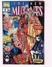 New Mutants # 98 VF/NM 1st Appearance Of Deadpool Marvel Comic Book X-Force J74