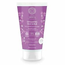 Natura Siberica Exfoliating Face Scrub Youthful Glow 150ml Oily Comb -Natural