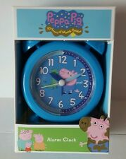 BRAND NEW Peppa Pig George - Fun Alarm Clock Bedroom - Blue