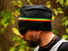 Unique shape warm rasta reggae beanie hat autumn / winter / spring anti allergic