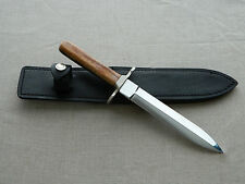 Limited Buck Dagger Fixed Blade Knife w/ Nice Giraffe Bone Handle! 64 of 100!