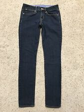 GAP 1969 ALWAYS SKINNY JEANS size 26/2r 2 Dark Blue WASH CUTE  Slim A7