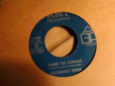 "Roosevelt Grier Hard to forget Amy11029  northern soul   7"" 45"