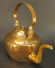 Antique Vintage JOHN GETZ Copper Teapot with Lid