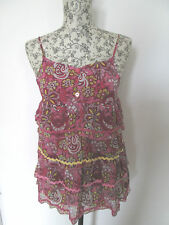 George - Pink Floral Sun Dress Size 11-12 years