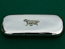 ENGLISH IRISH GORDON SETTER dog brand new chrome glasses case great gift!!