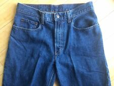 OLD NAVY BLUE JEANS mens 32x30 classic straight leg zipper fly pants EXCELLENT!