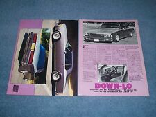 "1977 Chevy Caprice Resto-Mod Article ""Down-Lo"" 2-Door Impala"
