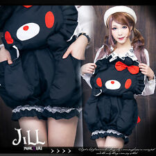 Lolita Japan cartoon Gloomy Violent bear thumbelina gallus trousers JJ0014 B