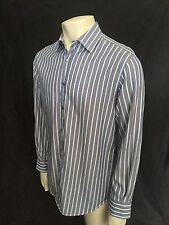 """Paul Smith Formal Shirt, Size 16"""", Made in Italy, Stripe,Cotton, Immaculate."""