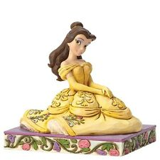 "Disney Traditions - ""Be Kind"" Belle Figurine  - Beauty and the Beast"