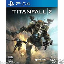 Titanfall 2 SONY PS4 PLAYSTATION JAPANESE NEW JAPANZON